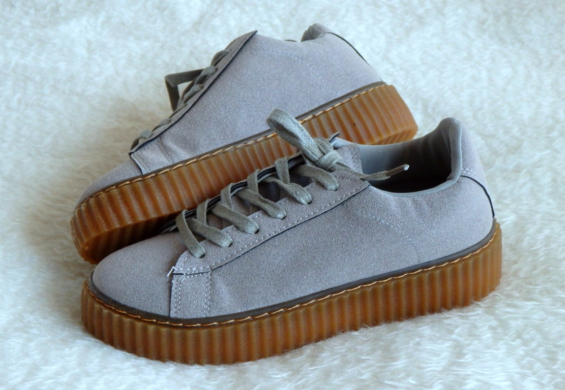 Creepers boty Grey